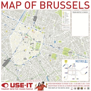 specialized in city maps also specialized in brussels on may 8 use it presents a blank city map at micronomics on which passers by can map